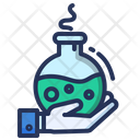 Research Flask Chemistry Icon