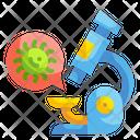 Research Microscope Lab Icon