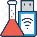 Usb Research Memory Icon