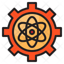 Research Science Gear Icon