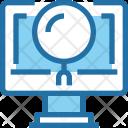Research Laptop Analysis Icon