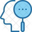 Research Man Mind Icon