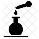 Research Tube Drop Icon