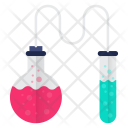 Chemistry Research Test Tube Icon