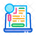 Research Agreement Research Agreement Icon