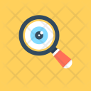 Research Analysis Magnifier Icon