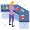Lab Experiment Research Area Laboratory Test Icon