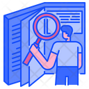 Research Book Research Book Icon