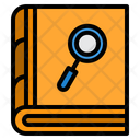 Research Book Analysis Book Notebook Icon