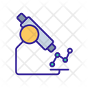 Analyse Contour Microscope Icon