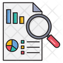 Research Graph Report Icon