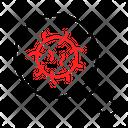 Research Coronavirus Icon