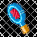Research Earthquake Icon