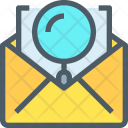 Email Research Mail Icon