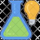 Science Ideas Light Bulb Bright Icon