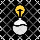 Research Idea Light Bulb Icon