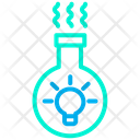 Conical Flask Flask Creative Idea Icon