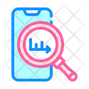 Infographic Research Mobile Icon