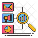 Research Marketing Data Research Market Analysis Icon