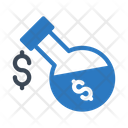Beaker Dollar Lab Icon