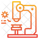 Microscope Scientific Laboratory Icon