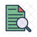 Research Document Page Icon