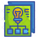 Plan Idea Bulb Icon