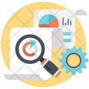 Analytics Research Market Icon