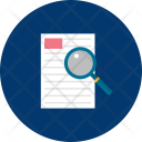 Document Analysis Research Icon