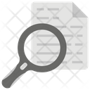 Research Data Monitoring Content Search Icon