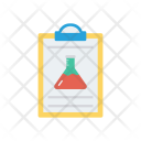 Lab Report Clipboard Icon