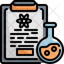Clipboard Scientific Laboratory Icon