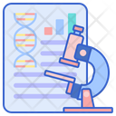 Research Report Gene Dna Icon