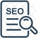 Seo Research Document Icon