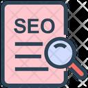 Research Seo File Icon