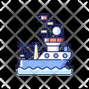 Research Vessel Icon