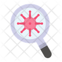 Healthcare Medical Loupe Icon