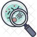 Research Virus Search Find Icon