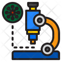 Virus Cell Covid Icon