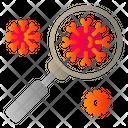 Corona Virus Search Research Icon