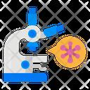 Research Virus Microscope Virus Icon
