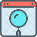 Research Webpage Window Icon