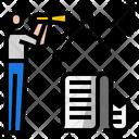 Research Optimization Search Icon
