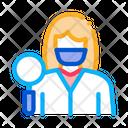 Researcher Dermatologist Doctor Icon