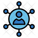 Resell Hosting Communication Connection Icon