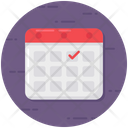 Reservation Event Planner Icon