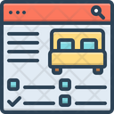 Reservation Protection Travel Icon