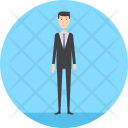 Reservation Man Business Icon