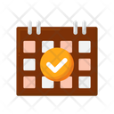 Reservation Booking Travel Icon