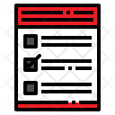 Reservation Form Icon